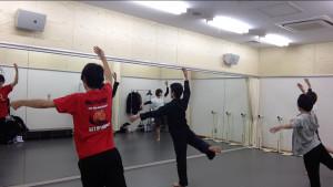 3/15 役者・俳優の為のジャズダンス基礎「ピルェットでは人を切らずに首を切れ」