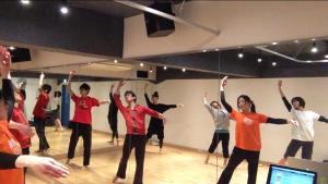 2/22ジャズダンスレッスン基礎「ルイジ→シェネ等」